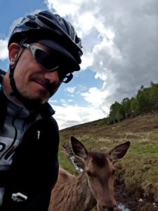 Red deer selfie, Phil Nightingale